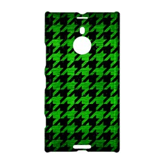Houndstooth1 Black Marble & Green Brushed Metal Nokia Lumia 1520