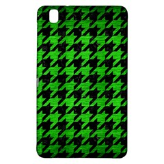 Houndstooth1 Black Marble & Green Brushed Metal Samsung Galaxy Tab Pro 8 4 Hardshell Case