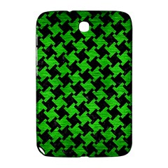 Houndstooth2 Black Marble & Green Brushed Metal Samsung Galaxy Note 8 0 N5100 Hardshell Case