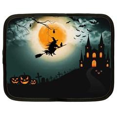 Halloween Landscape Netbook Case (xxl)