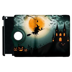 Halloween Landscape Apple Ipad 3/4 Flip 360 Case