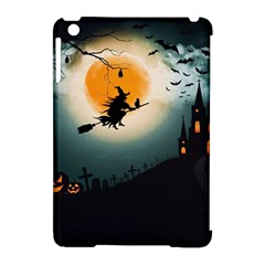 Halloween Landscape Apple Ipad Mini Hardshell Case (compatible With Smart Cover)