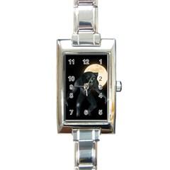 Werewolf Rectangle Italian Charm Watch