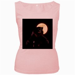 Werewolf Women s Pink Tank Top