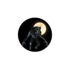 Werewolf Golf Ball Marker