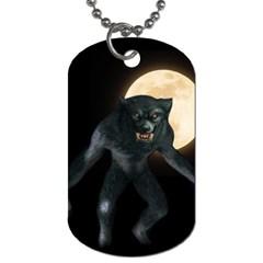 Werewolf Dog Tag (two Sides)