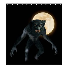 Werewolf Shower Curtain 66  X 72  (large)