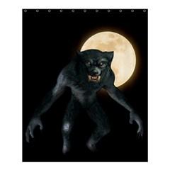 Werewolf Shower Curtain 60  X 72  (medium)
