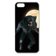 Werewolf Apple Seamless Iphone 5 Case (clear)