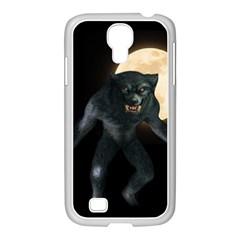 Werewolf Samsung Galaxy S4 I9500/ I9505 Case (white)