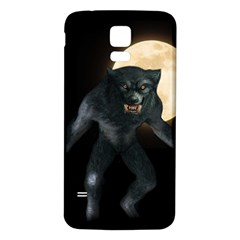 Werewolf Samsung Galaxy S5 Back Case (white)
