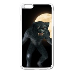 Werewolf Apple Iphone 6 Plus/6s Plus Enamel White Case