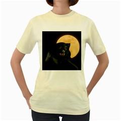 Werewolf Women s Yellow T Shirt