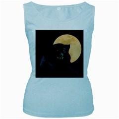 Werewolf Women s Baby Blue Tank Top