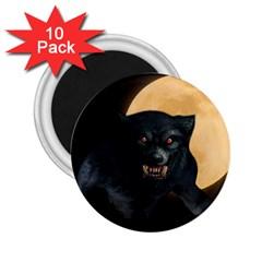 Werewolf 2 25  Magnets (10 Pack)