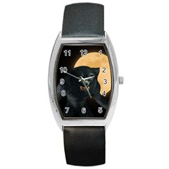 Werewolf Barrel Style Metal Watch