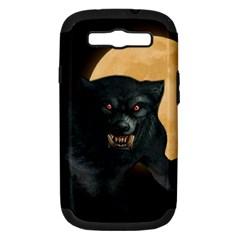 Werewolf Samsung Galaxy S Iii Hardshell Case (pc+silicone)