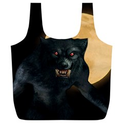 Werewolf Full Print Recycle Bags (l)