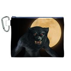 Werewolf Canvas Cosmetic Bag (xl)
