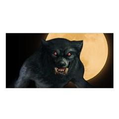 Werewolf Satin Shawl