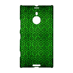 Hexagon1 Black Marble & Green Brushed Metal (r) Nokia Lumia 1520