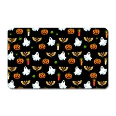 Halloween Pattern Magnet (rectangular)