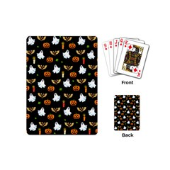 Halloween Pattern Playing Cards (mini)
