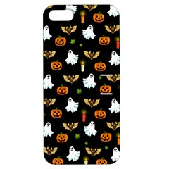 Halloween Pattern Apple Iphone 5 Hardshell Case With Stand