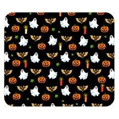 Halloween Pattern Double Sided Flano Blanket (small)
