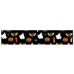 Halloween Pattern Flano Scarf (small)