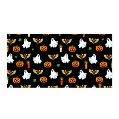 Halloween Pattern Satin Wrap