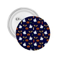 Halloween Pattern 2 25  Buttons