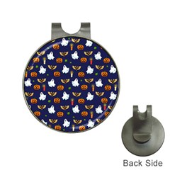 Halloween Pattern Hat Clips With Golf Markers
