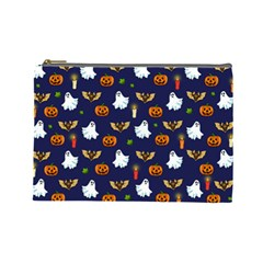 Halloween Pattern Cosmetic Bag (large)