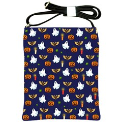 Halloween Pattern Shoulder Sling Bags