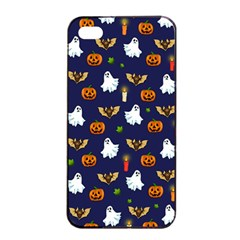 Halloween Pattern Apple Iphone 4/4s Seamless Case (black)