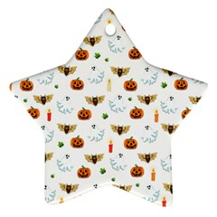 Halloween Pattern Ornament (star)