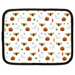 Halloween Pattern Netbook Case (xxl)