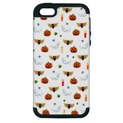 Halloween Pattern Apple Iphone 5 Hardshell Case (pc+silicone)