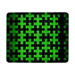 Puzzle1 Black Marble & Green Brushed Metal Samsung Galaxy Tab Pro 8 4  Flip Case