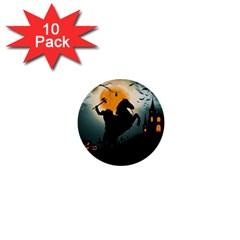 Headless Horseman 1  Mini Buttons (10 Pack)