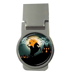 Headless Horseman Money Clips (round)