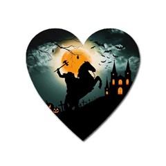 Headless Horseman Heart Magnet