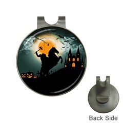 Headless Horseman Hat Clips With Golf Markers