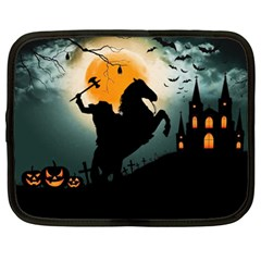 Headless Horseman Netbook Case (xl)