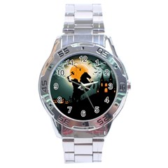 Headless Horseman Stainless Steel Analogue Watch