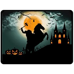 Headless Horseman Double Sided Fleece Blanket (large)