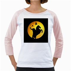 Headless Horseman Girly Raglans