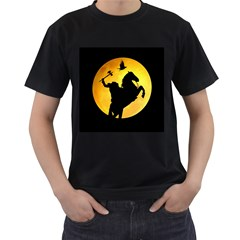 Headless Horseman Men s T Shirt (black) (two Sided)