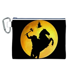 Headless Horseman Canvas Cosmetic Bag (l)
